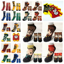 Socks Cute Stockings Couple Ankle Cosplay Fashion Cartoon School Short Gift Colorful