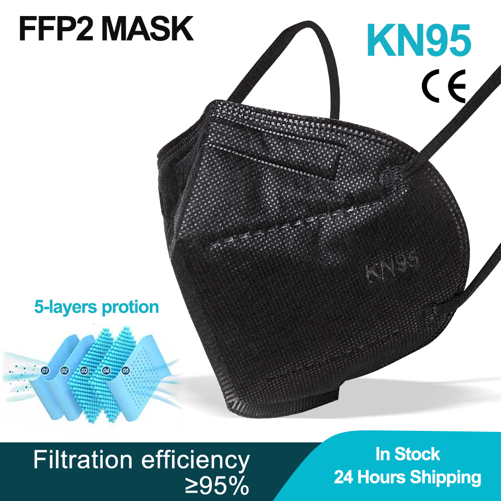 FFP2 Face Mask KN95 Facial Masks Filtration Maske Dust Protect Mascarillas Masque Tapabocas Respirat