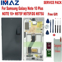 """IMAZ Original 6.8"""" LCD For Samsung Galaxy Note 10+ Note 10 Plus N975U LCD Display Touch Screen Digitizer Assembly For N975F LCD"""