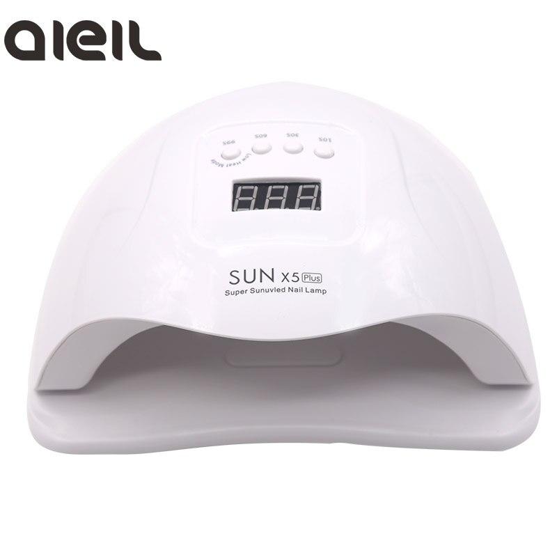 SUN X5 Plus 80W UV LED Gel Nail Lamp Quick Drying Nail Dryer Machine Machine Lamp For Nail Curing UV Gel Polish Nail Art Tools