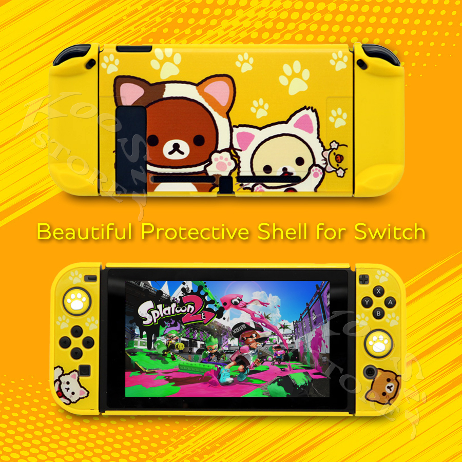 2020 New Nintend Switch Thin Hard Deluxe PC Case Nitendo Colorful Cover Skin Nintendoswitch Housing Shell for Nintendo Switch NS