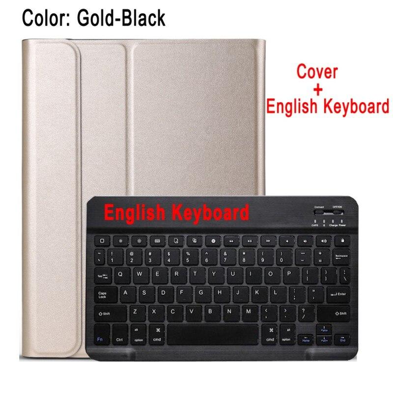 English Keyboard Yellow Case Keyboard For Apple iPad 10 2 2019 7 7th 8th Gen Generation A2197 A2200 A2198