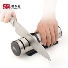 Afilador de cuchillos profesional de 3 etapas para cocina, piedra Para afilar cuchillos, tungsteno, diamante, herramienta afiladora de cerámica
