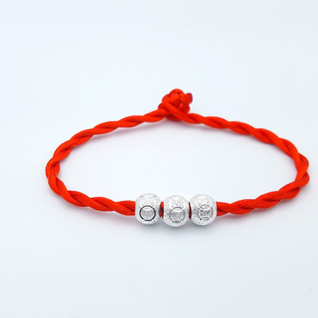 Hot 1PC Handmade Knit Lucky Chinese Bracelet Adjustable Unisex Red Bracelet Jewelry Gifts Dropshipping image