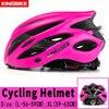 Capacete de bicicleta certificado cpsc ce, capacete de ciclismo mtb com luz traseira e viseira solar 25