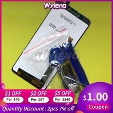 Wyieno اختبار BQ5514 لوحة مرقمة أجزاء ل BQ BQ 5514G سترايك السلطة اللمس + LCD مجموعة شاشة العرض تتبع 5514L 4G