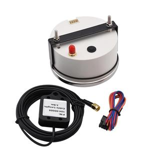 Image 5 - Universal 85mm GPS Speedometer 200km/h 120km/h Car Speedometer Gauge for Truck Marine Boat With Backlight 12V 24V for BMW e39