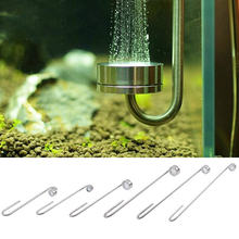 Ultra Thin CO2 Diffuser Stainless Steel Aquarium Excellent CO2 Dissolve Stainless Steel Water Grass Full Set Of Tools Refiner(China)