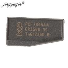 Jingyuqin 5 unids/lote Chip de llave de coche ID44 transpondedor Chip carbono PCF7935AA ID 44 Chip para VW Volkswagen BMW Auto Key