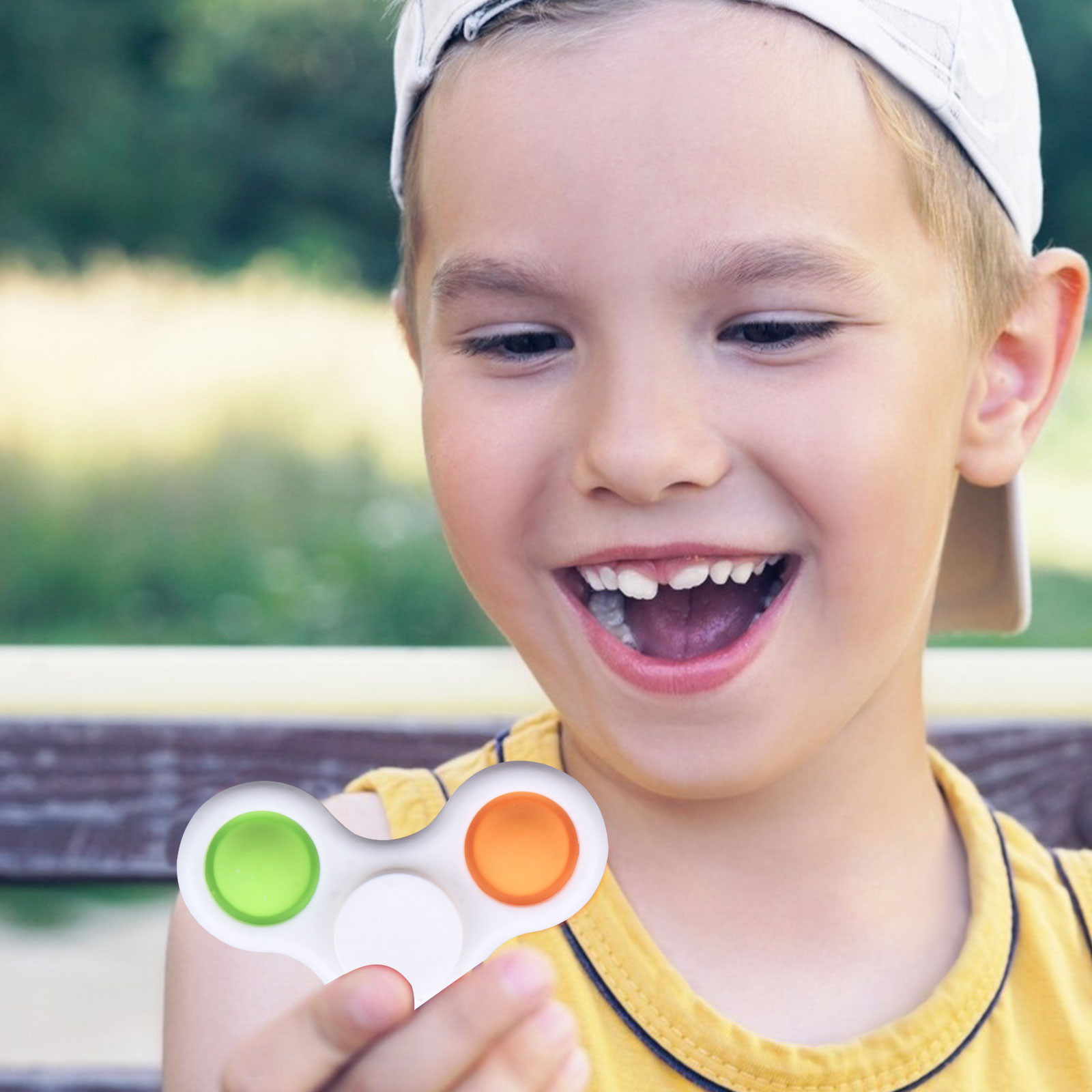 It-Toys Fidget-Spinner Anti-Stress Novelty Funny Spinning Adult Kids New Pop img4