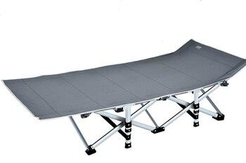 Rinforzato pieghevole ufficio letto pieghevole letto singolo pranzo letto reclinabile semplice letto da campo di accompagnamento Shop5367257 Store