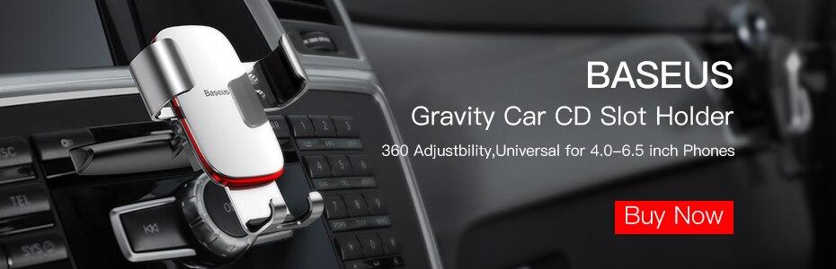 Baseus 15W Wireless Charger Car Mount Car Phone Holder