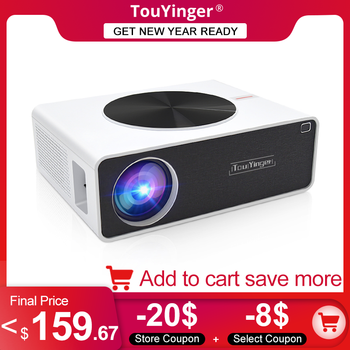 TouYinger Q9 Home cinema LCD video Projector 1080P Full HD 6800 lumens ( Android 9.0 wifi Bluetooth Optional ) LED Movie Beamer 1