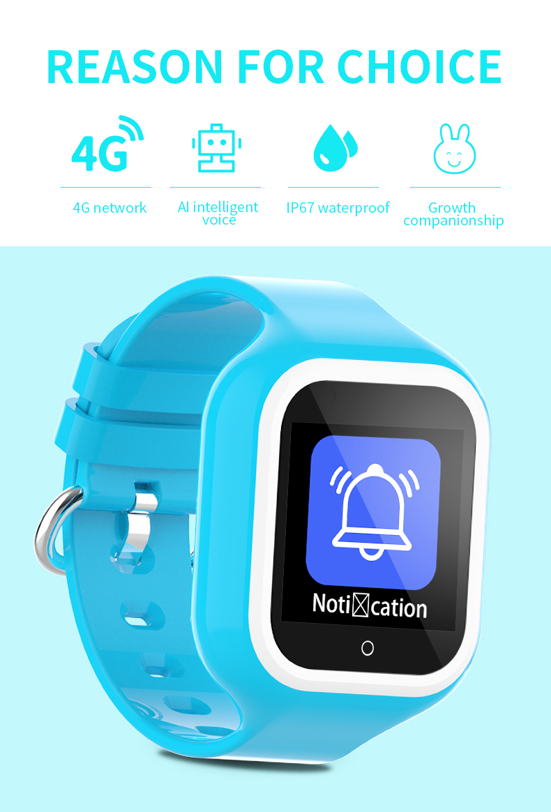 Wonlex KT21 Smart-Watch Baby SOS Anti-Lost Tracker Kids Camera Phone Smartwatches 4G Video Call Wifi Position Anti-Lost Watches