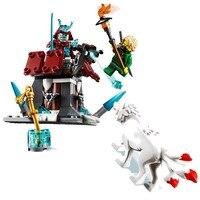 Nicaixa de brinquedos para blocos de construção  brinquedo de blocos de construção  compatível com lepining ninjagoing 70671 para presente de natal