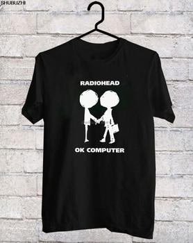 Radiohead Logo OK ordenador oknotook de música Rock BandBlack camiseta S-3XLshort manga camiseta Tops sbz1319