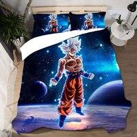 Dragon Ball Bedding Set Home Textiles Duvet Cover Ropa De Cama Wedding Sabanas King Size Bedding Set Lencol Cama Casal Bed Linen