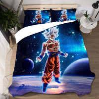 Dragon Ball Bettwäsche Set Home Textilien Bettbezug Ropa De Cama Hochzeit Sabanas König Größe Bettwäsche Set Lencol Cama Casal bett Leinen