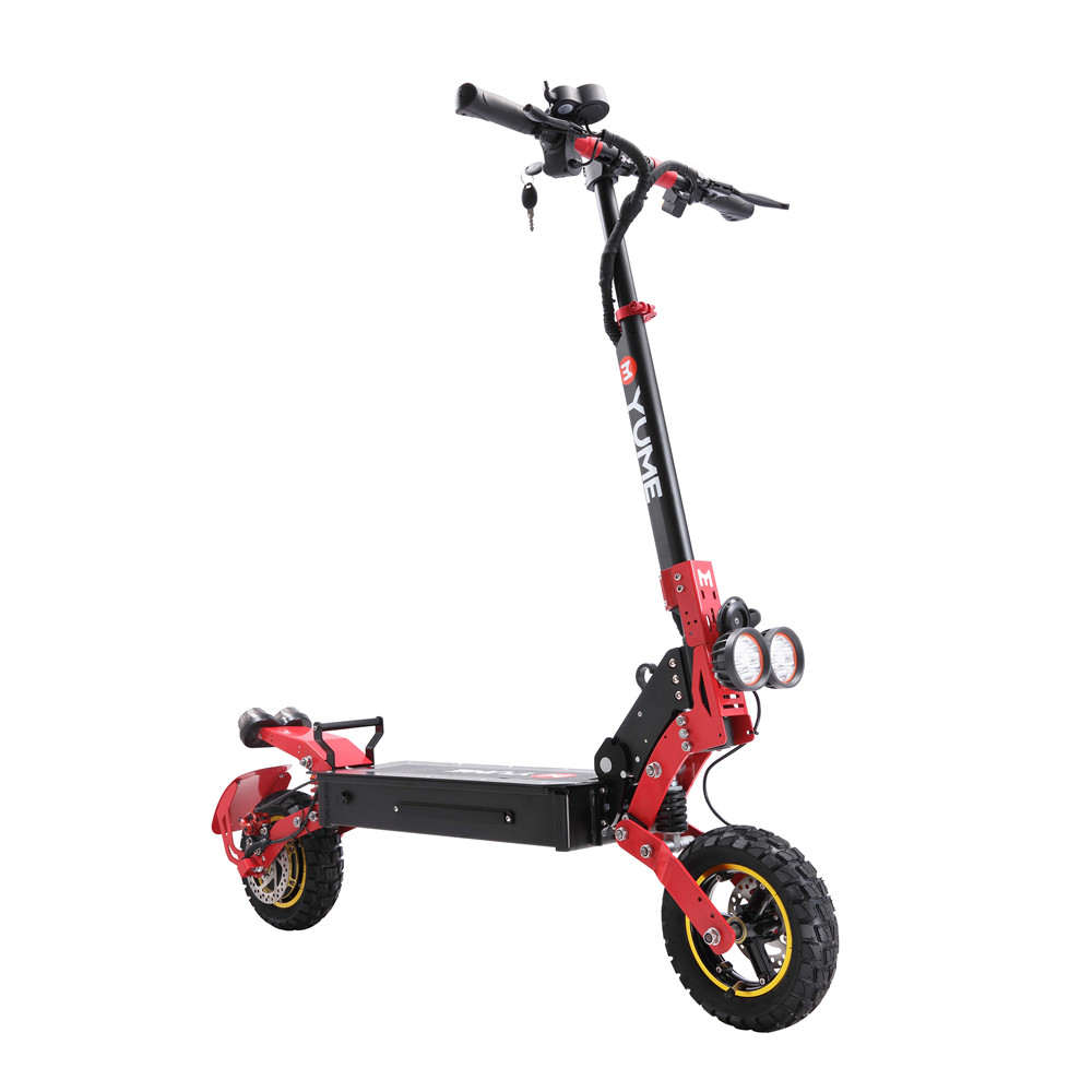 YUME YMS12 48V 800W 21Ah Folding <font><b>Electric</b></font> <font><b>Scooter</b></font> 10 Inch 45km/h Top Speed 60km Mileage Range Max. Load 120kg E-<font><b>Scooter</b></font> EU Plug image
