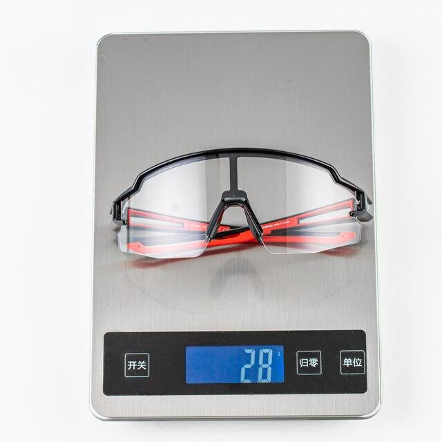 Rockbros photochromic ciclismo óculos polarizados built-in miopia quadro esportes óculos de sol masculino feminino óculos de ciclismo óculos de proteção 6