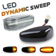 LED 사이드 마커 램프 턴 시그널 리피터 라이트 For 폭스 바겐 LT MK2 Type 2D Dodge Sprinter