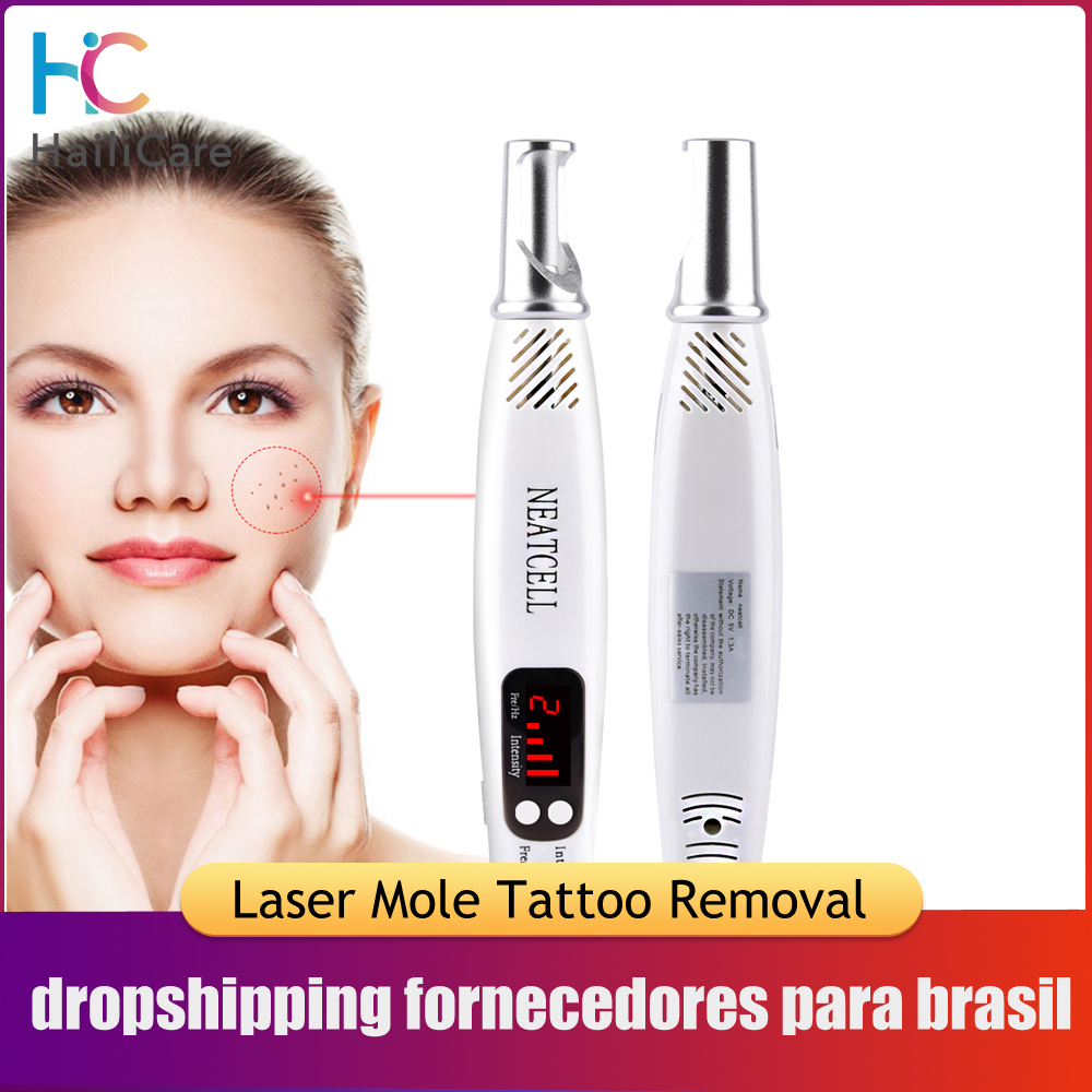 Tattoo-Removal-Machine Laser-Pen Light-Therapy Mole Freckle Neatcell Blue Picosecond title=