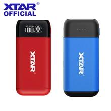 Xtar充電器電源銀行PB2C PB2S/18650バッテリー充電器PB2C/PB2S QC3.0タイプc充電器21700 20700 18700 18650電池