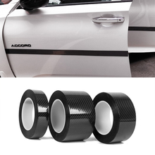 3-10 м бесследная Автомобильная карбоновая 3D Отделка Декор нано клейкая лента боди наклейка с надписью для Audi Sline A4 A6 Q3 TT S5 автомобильный Стайлинг
