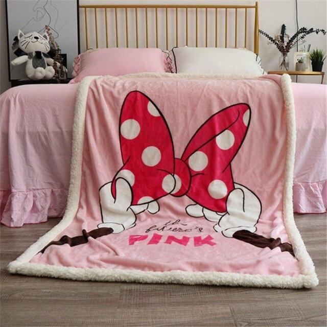 Disney-Cartoon-Minnie-Mouse-Fleece-Lamb-Fleece-Four-Seasons-Warm-Children-s-Blanket-Kids-Children-Throw.jpg_640x640