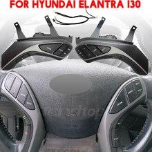 Dla Hyundai Elantra I30 wielofunkcyjna kierownica Bluetooth stała prędkość przycisk sterowania tempomatem przełącznik Audio akcesoria samochodowe