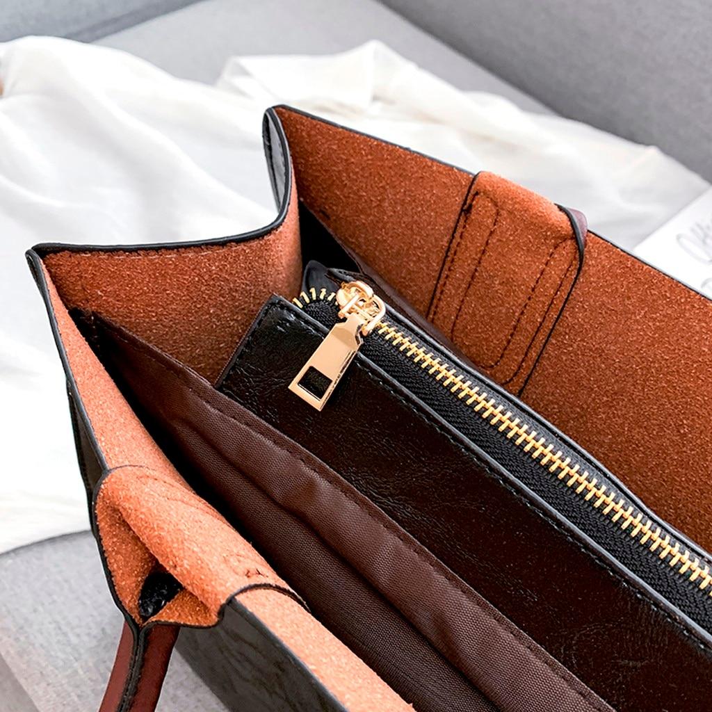 Ensemble sacs 3 pièces mode en cuir PU dames sac à main 87
