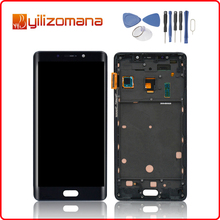 Super AMOLED 5.7 1920x1080 Screen For XIAOMI Note 2 LCD Touch with Frame Digitizer Replacement Display