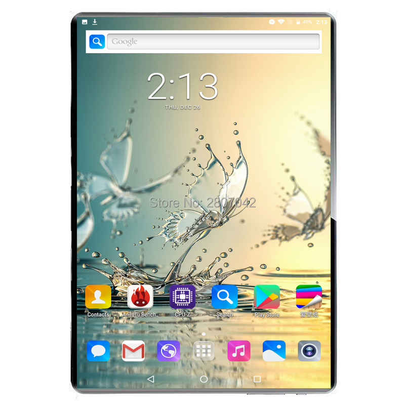 Sales 8GB RAM 10 Inch Tablet PC 1920*1200 HD 2.5D Tempered Glass 10 Core 4G Tablet 8G+128GB ROM Dual Cameras Android 9.0 Tablet