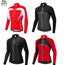 WOSAWE New Winter Warm Thermal Cycling Jacket Bicycle Clothing Windproof Waterproof Jersey MTB Mountain Bike Wear