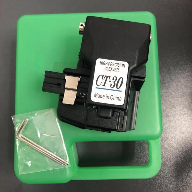 Feito em china fibra cleaver CT 30 cutelo de alta precisão com caso fibra óptica faca de corte ct30a fibra cleaver