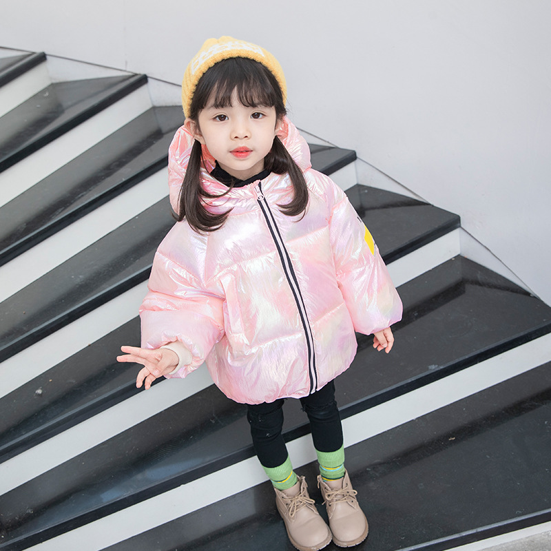 Duck Down Jacket Coat Baby Girls Boys Parka Kids Jacket Hood Winter Children Jacket Spring Toddler Outerwear 2-8 Year Clothes