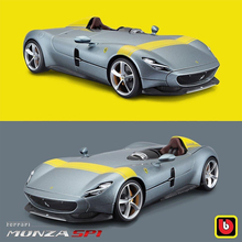 Bburago 1:18 Scale Ferrari Concept Monza SP1 Alloy Luxury Vehicle Diecast Cars Model Toy Collection Gift