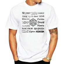 Men Tshirt RPG Classes Unisex T Shirt Women T-Shirt Tees Top