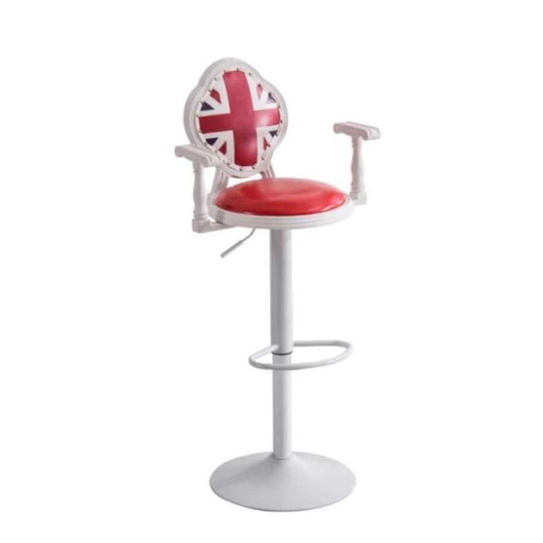 Bar Chair Modern Simple High Chair Bar High Stool Mobile Phone Store Stool Back Bar Stool Domestic Lift Bar Chair