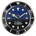 Роскошные Светящиеся Настенные часы 34 см с логотипом для дома  Роскошные Металлические настенные часы с датой  большие современные винтажн...