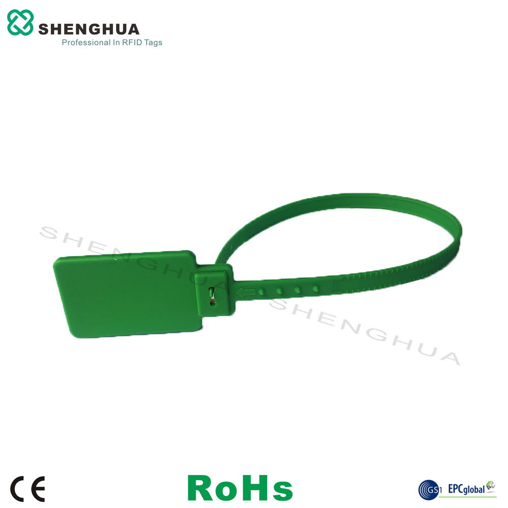 10pcs/pack ISO18000-6C Gas Cylinder Tag UHF RFID Zip Tie Seal Tag Passive Moisture Resistance Waterproof High Performance