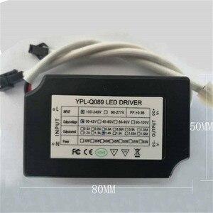 Светодиодная лампа для выращивания растений рама радиатор из алюминиевого сплава 100 мм набор линз/вентилятор привода электростанции рост ...