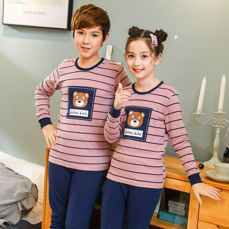 Kids Sleepwear Clothes Big Boys Girls Pajamas Set Unicorn Pyjamas Kids Cotton Nightwear Cartoon Pijamas Infant Baby Boys Pajamas