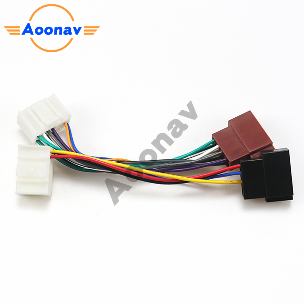 Car Stereo Radio Wiring Harness Adapter Plug for lincoln 12 109(2) for ford  for jaguar for mercry Wiring Harness Connector Cables, Adapters & Sockets   - AliExpresswww.aliexpress.com