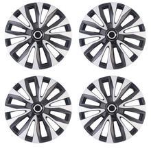 4pcs/set 14 Inch Car Wheel Hub Caps Universal Car Wheel Hub Cover Decorative Auto Replacement Fit R14 Tyre