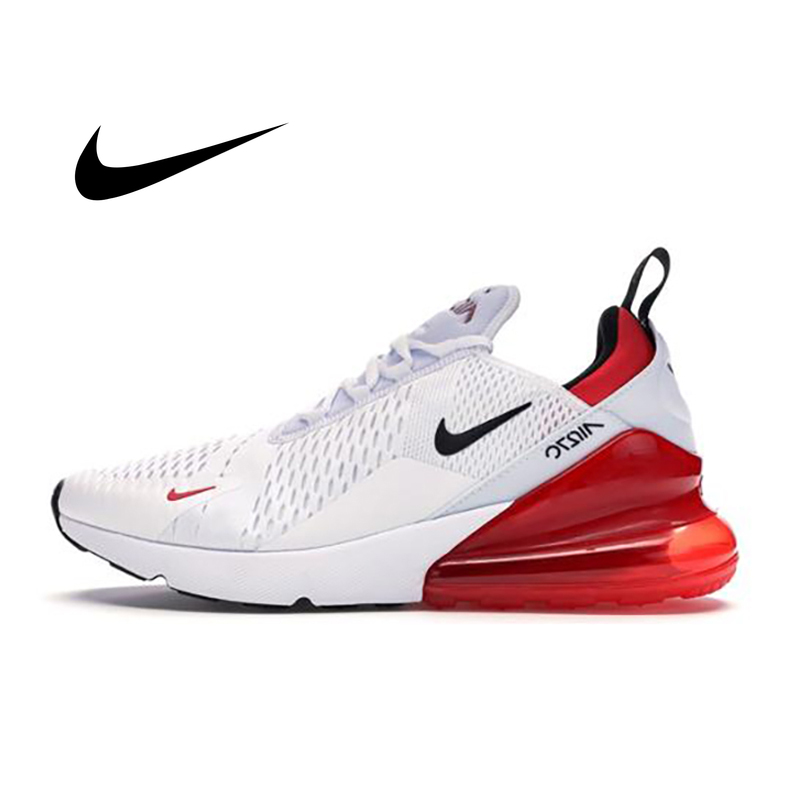 Original Authentic Nike Air Max 270 Mens Sneakers Fashion Fitness Running Shoes Breathable Cushioning Durable Top Quality CN7077