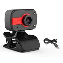 TWISTER.CK 360 Degree Rotatable USB Interface 12M HD Webcam Auto Color Correction Web Camera With Microphone For Laptop PC