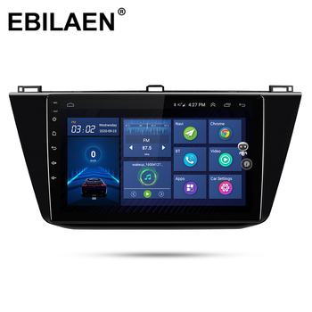 amprime 1din android 7 car multimedia quad core 6 0 touch car styling autoradio gps wifi bt usb fm rear view camera stero audio Car DVD Multimedia player For VW Volkswagen Tiguan 2017-2019 1Din Car Android 10.0 Autoradio GPS Navigation Wifi Radio Stereo