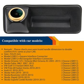 HD 1280x720p Reversing Rear View Backup Camera for Skoda Roomster Polo 6R  Fabia Octavia Yeti Superb Audi A1