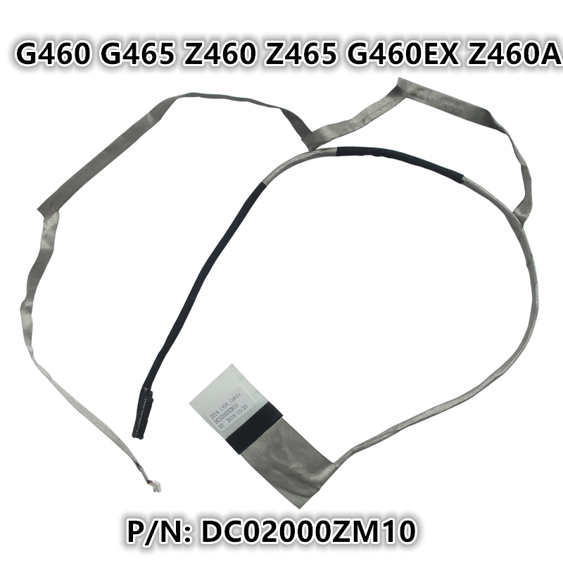 New Laptop LCD LED LVDS Video <font><b>Screen</b></font> Display Flex wire Cable For <font><b>Lenovo</b></font> <font><b>G460</b></font> G465 Z460 Z465 G460EX Z460A P/N:DC02000ZM10 image